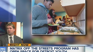 Matrix Off the Streets program has open spots for Detroit youth in need of shelter - Video