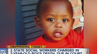 2 state social workers charged in 3-year-old boy's death - Video