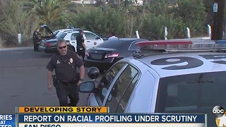 Report on racial profiling under scrutiny