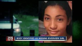 Body of missing Riverview teen found