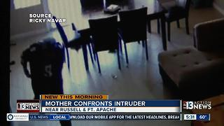 Local mom scares off intruder - Video