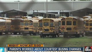 Hillsborough County School District votes to eliminate courtesy busing - Video