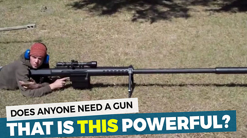 New Rifle Can Kill From Up To 2 Miles Away