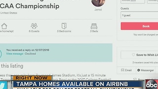 Airbnb hosts could be big winners of the College Football National Championship game - Video