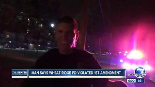 Lawsuit claims Wheat Ridge police arrested man after he recorded traffic stop - Video