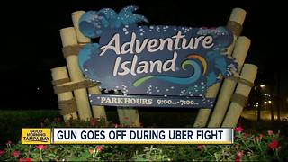 Police: Gun discharged during fight between Uber driver and passengers at Adventure Island - Video