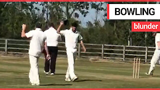 Hilarious moment former England captain Alastair Cook loses his temper in cricket match
