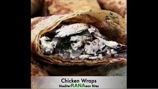 How to make delicious chicken wraps