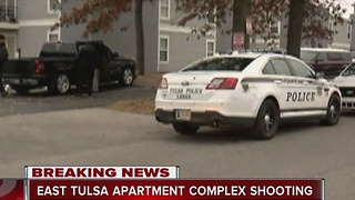 Police investigate shooting at east Tulsa apartment complex - Video