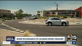 Study: Some traffic roundabouts lead to more crashes in Arizona - Video