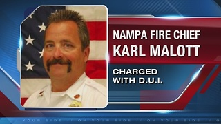 Nampa Fire Chief DUI - Video