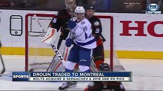 Lightning trade Jonathan Drouin to Montreal - Video