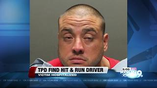 Tucson Police arrest hit & run suspect