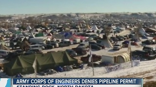 Local reaction to pipeline decision - Video