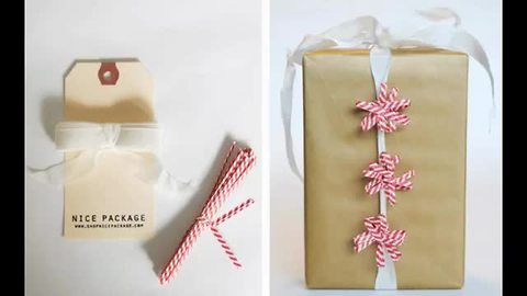 DIY: 11 Christmas gift wrap ideas