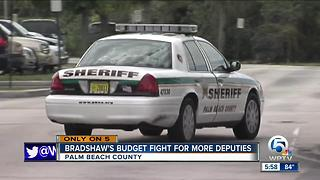 Palm Beach County Sheriff's Office asks for more money to hire more deputies - Video