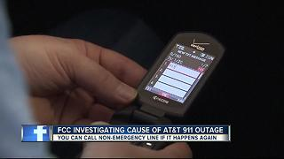 AT&T glitch preventing 911 calls is resolved - Video