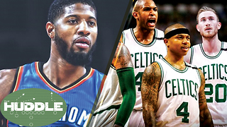 Most Improved NBA Team? Can the Celtics BEAT the Cavs? -The Huddle - Video