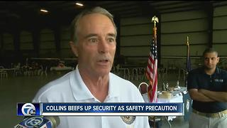Rep. Chris Collins beefs up his security as a safety precaution - Video