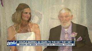 Northeast Ohio vendors step in to give man with terminal cancer his dream wedding - Video