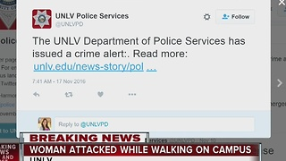 University police send out alert - Video