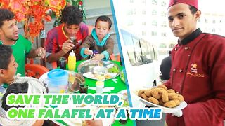 Feeding the poor: The kindest restaurant owner in Yemen - Video