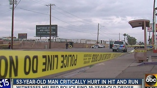 Teen accused in Phoenix hit-and-run accident - Video