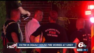 Woman killed in Avon house fire identified - Video