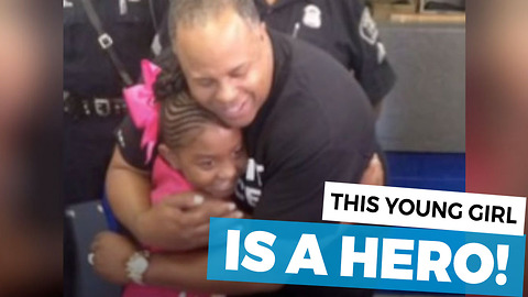 Cop Overhears 9-Year-Old's Conversation At Police Station, Immediately Calls For Help