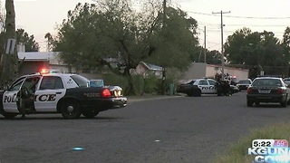 TPD responding to armed man in house - Video