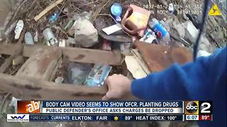 BPD address public defender's claims of an officer planting drugs in body cam footage