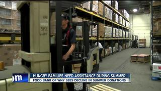 Food Bank of WNY provides summer meals for hungry kids but need your help - Video
