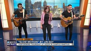 Lin-say to play at Campus Martius - Video
