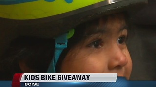 Boise Bicycle Project's kids bike giveaway - Video