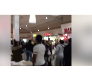 Fight Breaks Out in Philadelphia Mall, Police Chase Youths - Video
