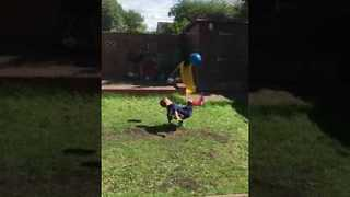 Soccer Trick Doesn't Go According to Plan for This Kid - Video