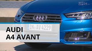 Audi A4 Avant: Synthesis of Technology and Aesthetics - Video