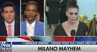 Candace Owens rips hypocrite Alyssa Milano on Jesse Watters show
