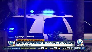 2 shot, 1 dead in Fort Pierce double shooting - Video