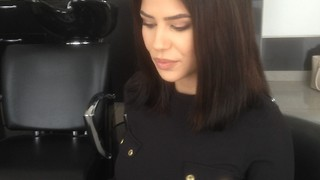 Michaela Kimberley hair makeover 2017 by Top STylist Amal Hermuz Vivyan Hair Design TV - Video