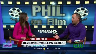 Dialogue is the star in 'Molly's Game' (MOVIE REVIEW) - Video