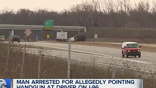Road rage incident on I-96