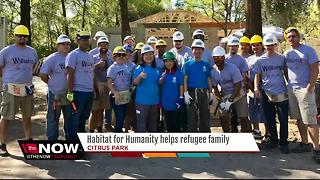 Habitat for Humanity helps refugee family live American dream - Video
