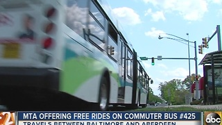 MTA offers free rides on Commuter Bus #425 this week - Video