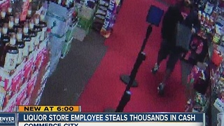 Commerce City liquor store owner seeks employee who stole thousands - Video