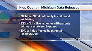 Kids Count Michigan data released - Video