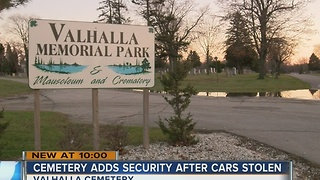 Milwaukee cemetery on alert after 2 armed robberies - Video