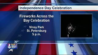 Fourth of July Celebration in St. Petersburg - Video