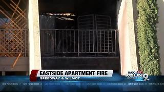 Fire damages two eastside apartments - Video