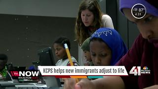KCPS trying to make transition easier for immigrants - Video